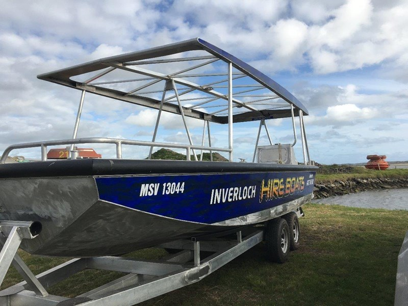 custom 7.49m alloy punt / work boat 449317 003