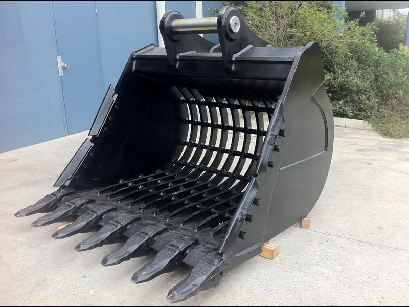 boss attachments boss 20-110 tonne armoured hd rock sieve buckets 449581 009