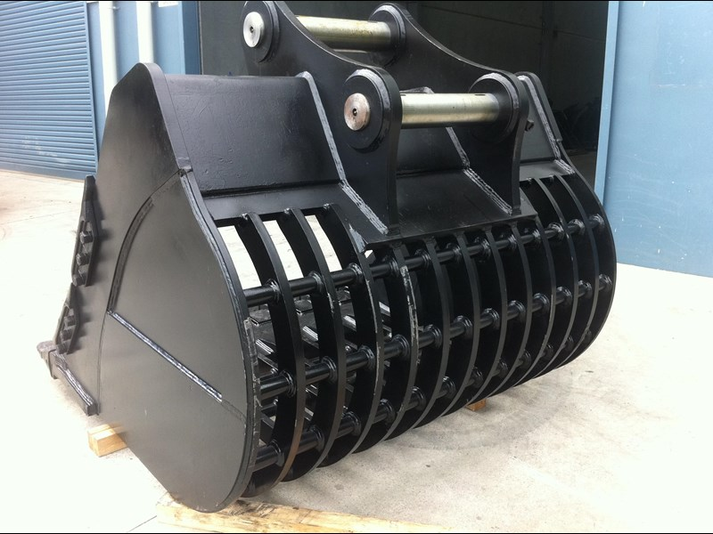 boss attachments boss 20-110 tonne armoured hd rock sieve buckets 449581 011
