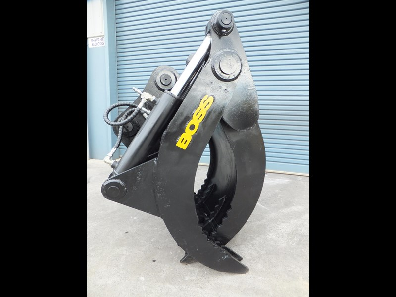 "boss attachments boss 13-40 tonne hydraulic grab ""in stock"" 449583 003"