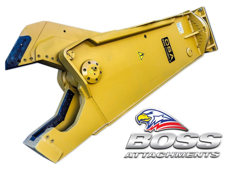 boss attachments osa sh series rotating demolition shears 449585 009
