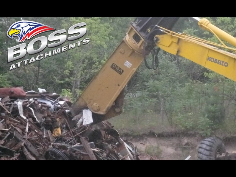 boss attachments osa sh series rotating demolition shears 449585 011