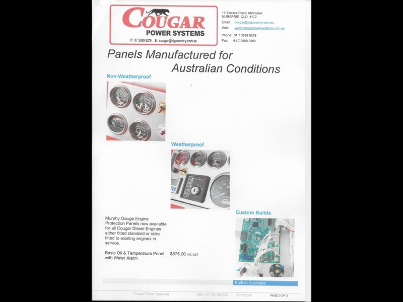 cougar 26 hp electric start 188908 005