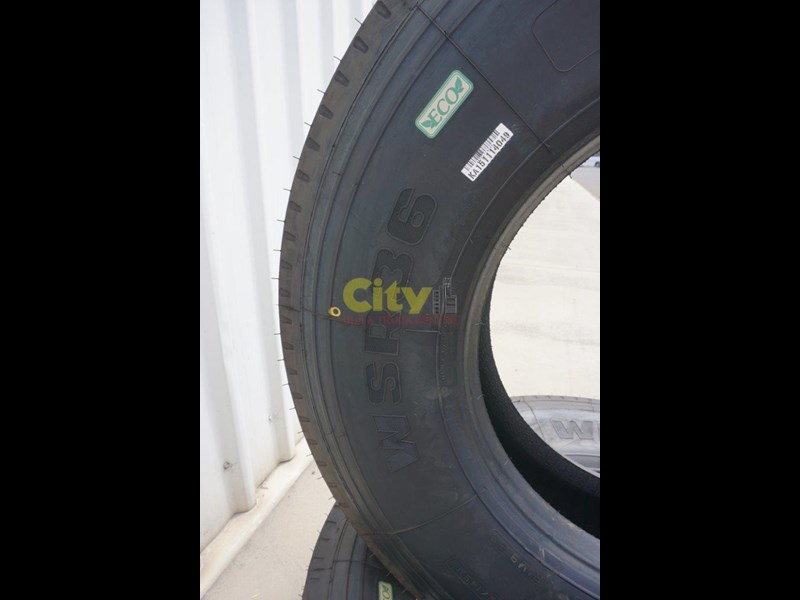 windpower wsr36 - 295/80r22.5 steer tyre 450181 015