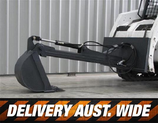 workmate skid steer backhoe boom attachment 379526 001