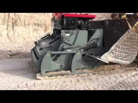 asphalt zipper zipminer surface mining attachment 450999 009