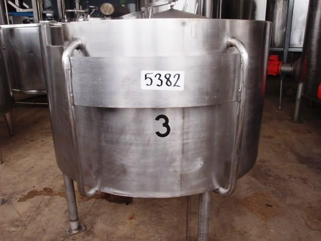 stainless steel storage tank 1,000lt 450989 001