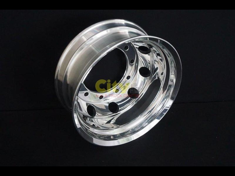 roh 10/335 8.25x22.5 rohdmaster polished alloy drive rim 451300 005