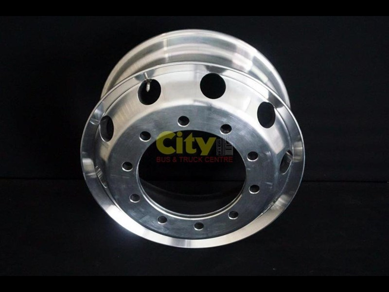 roh 10/335 8.25x22.5 rohdmaster polished alloy drive rim 451300 009