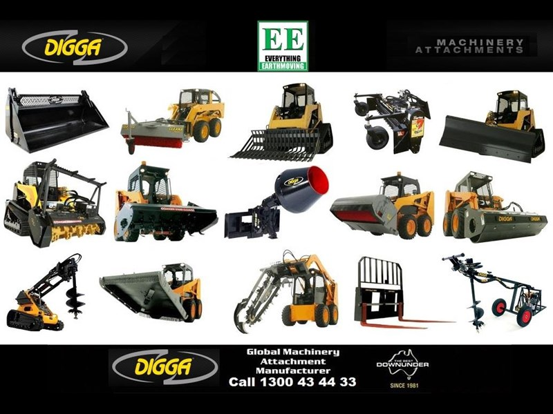 digga digga pd8hf backhoe high flow auger drive 385498 005