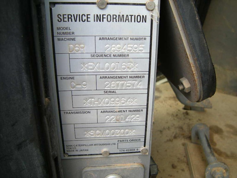 caterpillar d6r xl series iii 416692 025