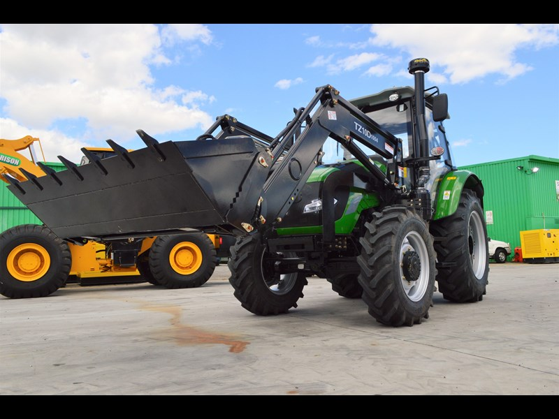 agrison 100hp cdf + 4 in 1 bucket + fel + tinted windows 455234 007