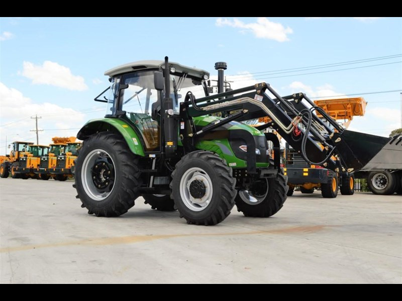 agrison 100hp cdf + 4 in 1 bucket + fel + tinted windows 455235 005