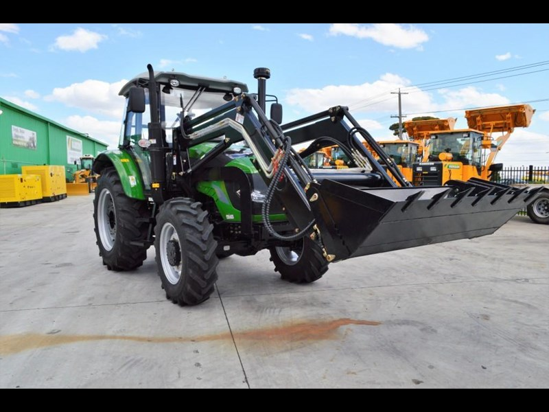 agrison 100hp cdf + 4 in 1 bucket + fel + tinted windows 455235 041