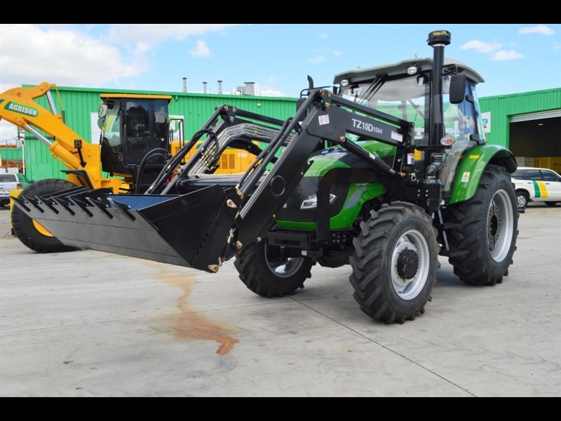 agrison 100hp cdf + 4 in 1 bucket + fel + tinted windows 455237 011