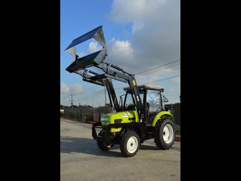 agrison agrison 60hp ultra g3 + turbo + aircon + 6ft slasher + tinted windows 129373 005