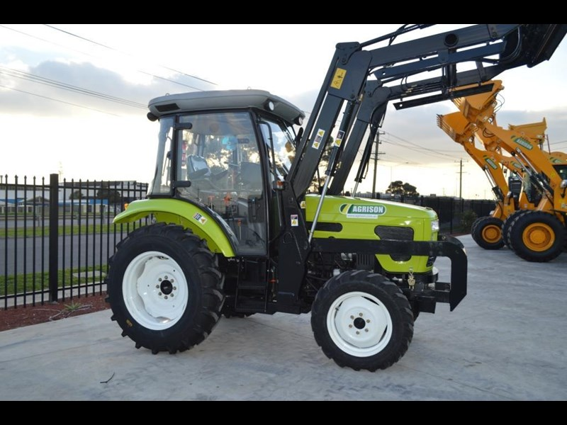 agrison agrison 60hp ultra g3 + turbo + aircon + 6ft slasher + tinted windows 129373 033