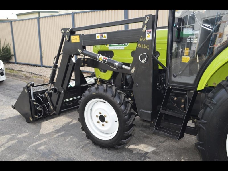 agrison agrison 60hp ultra g3 + turbo + aircon + 6ft slasher + tinted windows 129373 041
