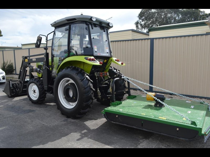 agrison agrison 60hp ultra g3 + turbo + aircon + 6ft slasher + tinted windows 129373 043