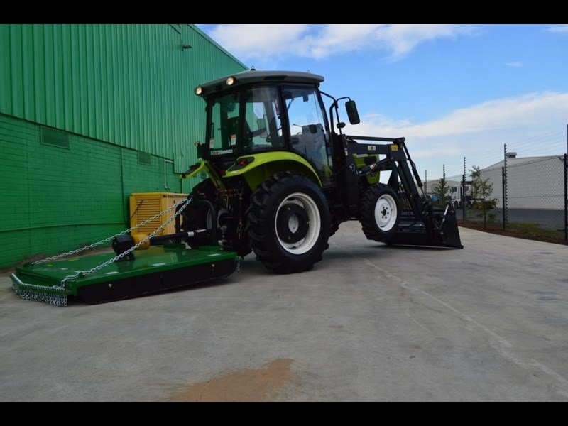 agrison agrison 60hp ultra g3 + turbo + aircon + 6ft slasher + tinted windows 129373 055