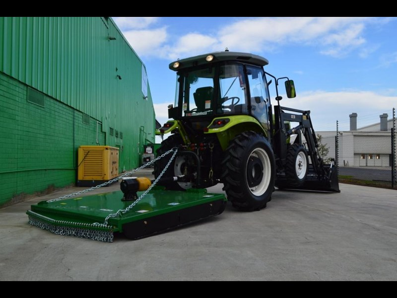 agrison agrison 60hp ultra g3 + turbo + aircon + 6ft slasher + tinted windows 129373 057