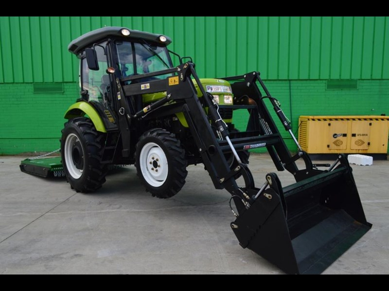 agrison agrison 60hp ultra g3 + turbo + aircon + 6ft slasher + tinted windows 129373 059