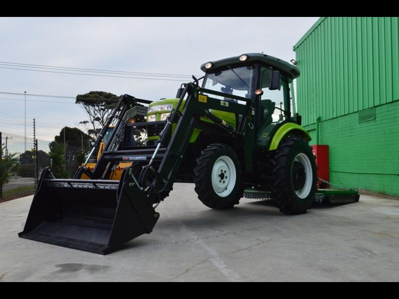 agrison agrison 60hp ultra g3 + turbo + aircon + 6ft slasher + tinted windows 129373 063