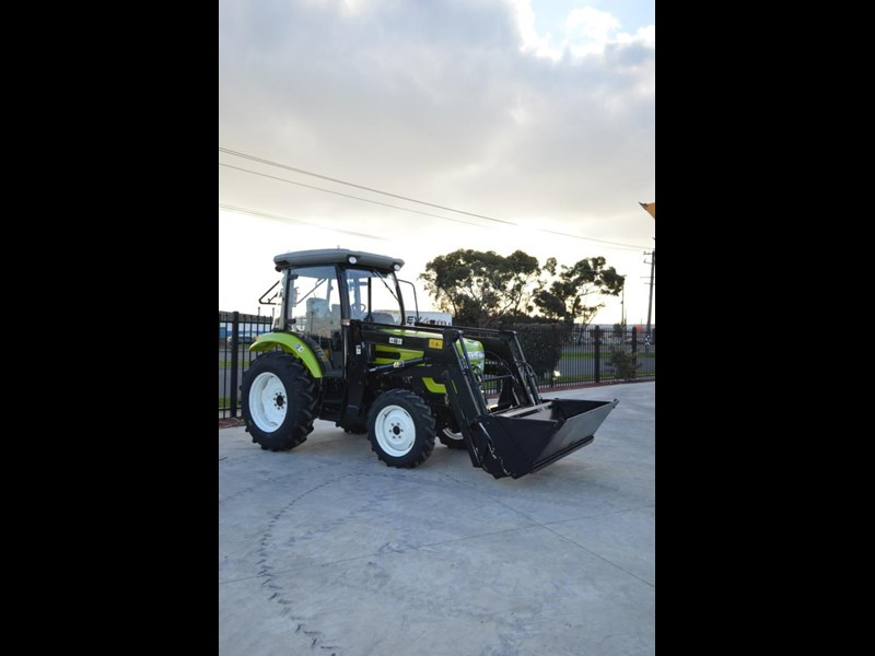agrison agrison 60hp ultra g3 + turbo + aircon + 6ft slasher + tinted windows 129807 013
