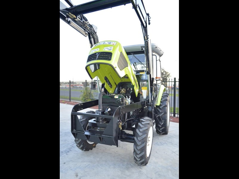 agrison agrison 60hp ultra g3 + turbo + aircon + 6ft slasher + tinted windows 129807 027
