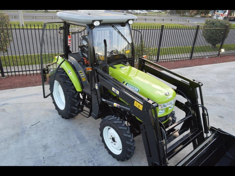 agrison agrison 60hp ultra g3 + turbo + aircon + 6ft slasher + tinted windows 129810 001