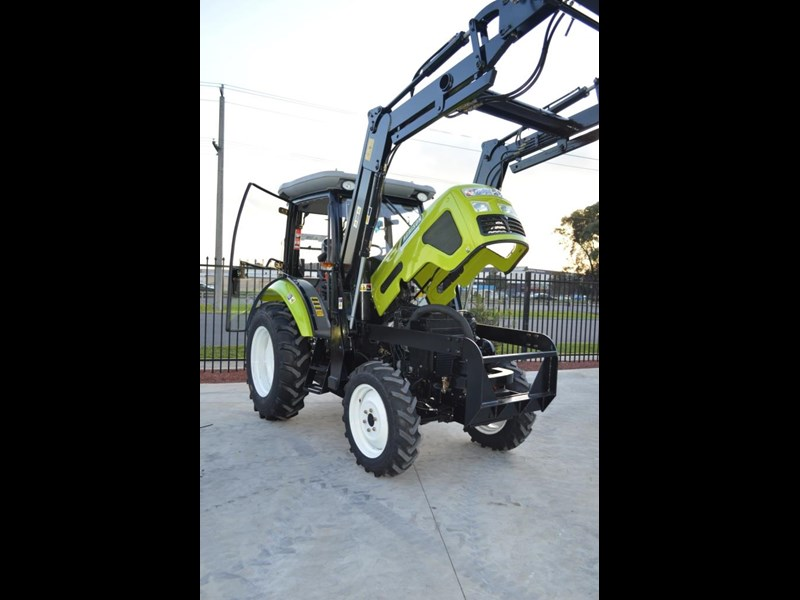 agrison agrison 60hp ultra g3 + turbo + aircon + 6ft slasher + tinted windows 129802 029