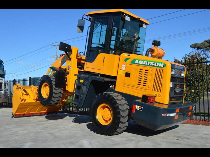 agrison tx926 wheel loader 5.5tonne 2000kg capacity 5year warranty 100378 007