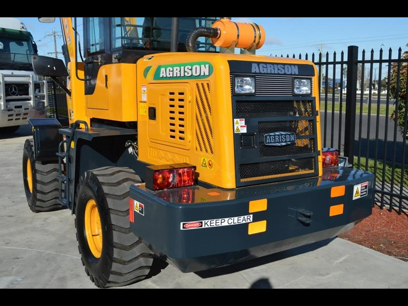 agrison tx926 wheel loader 5.5tonne 2000kg capacity 5year warranty 100378 015