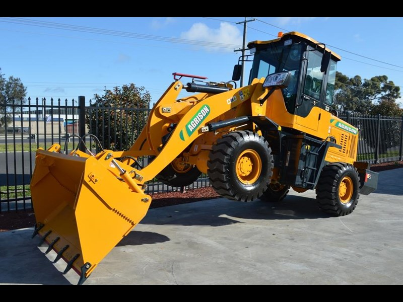 agrison tx926 wheel loader 5.5tonne 2000kg capacity 5year warranty 100378 023