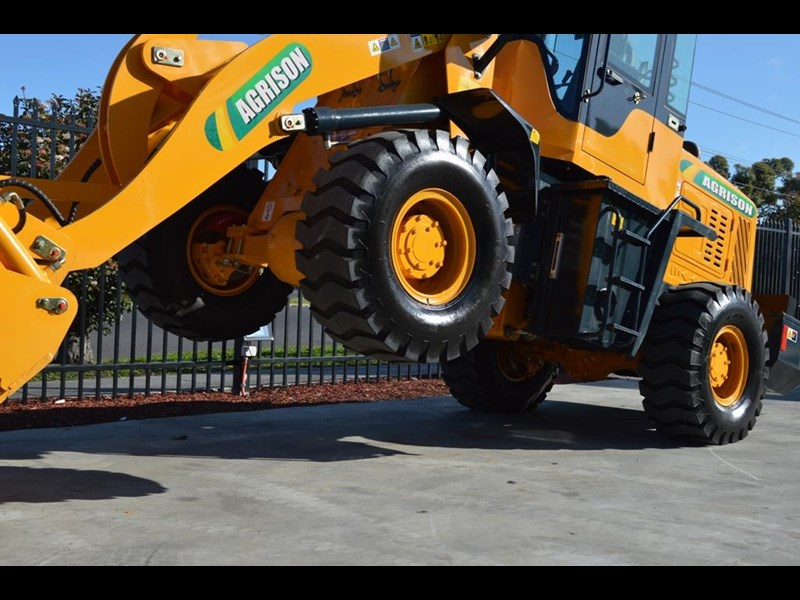 agrison tx926 wheel loader 5.5tonne 2000kg capacity 5year warranty 100378 029