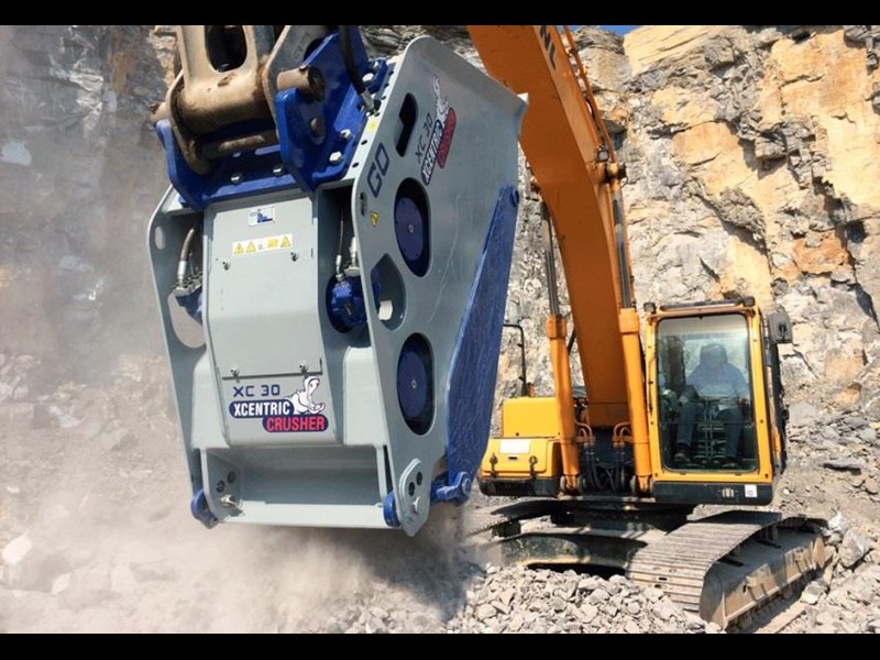 xcentric xc20 crusher bcukets rent-try-buy 461495 017