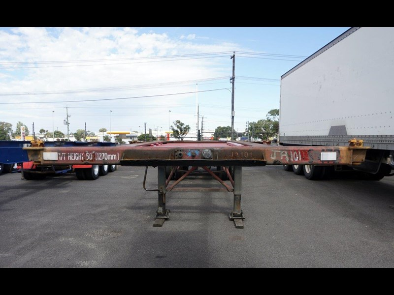 krueger 40ft tri-axle skel trailer 463160 007