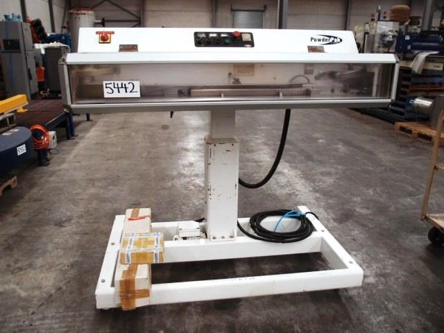 powder pak continuous bag heat sealer 463565 001