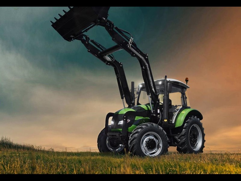 agrison 100hp cdf + 4 in 1 bucket + fel + tinted windows 455235 001