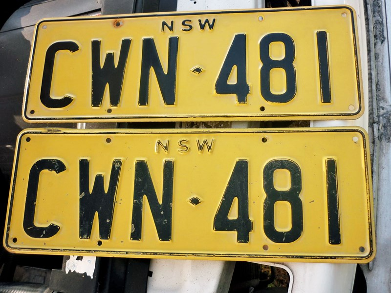 number plates rcyclr/scrapa 466030 013