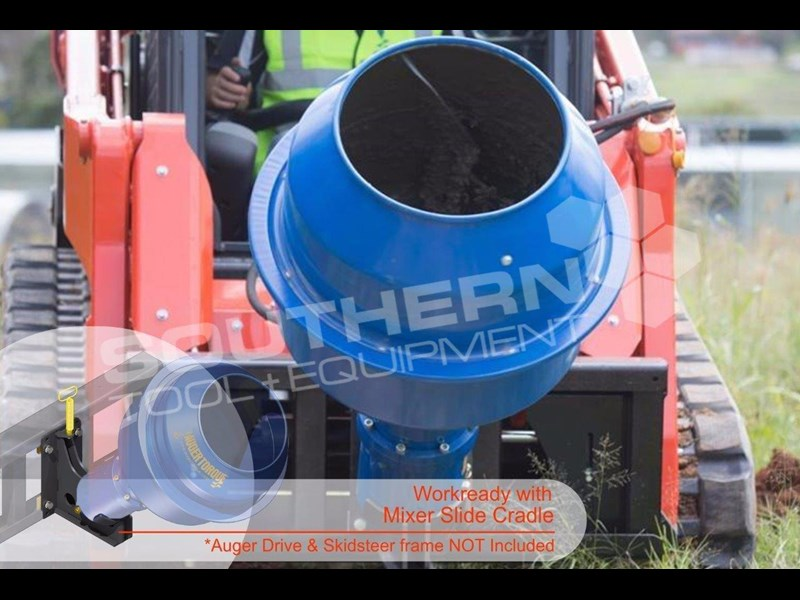 auger torque 180l cement mixer bowl 424569 001