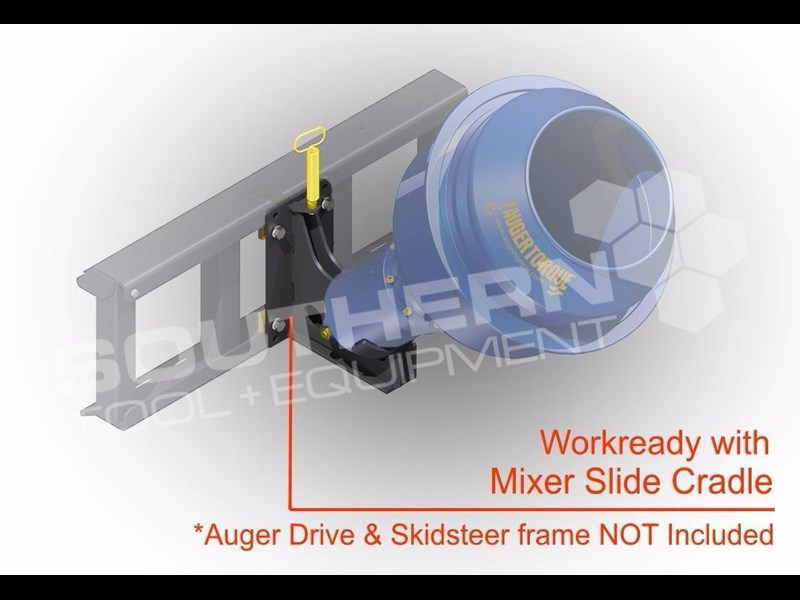 auger torque 180l cement mixer bowl 424569 003