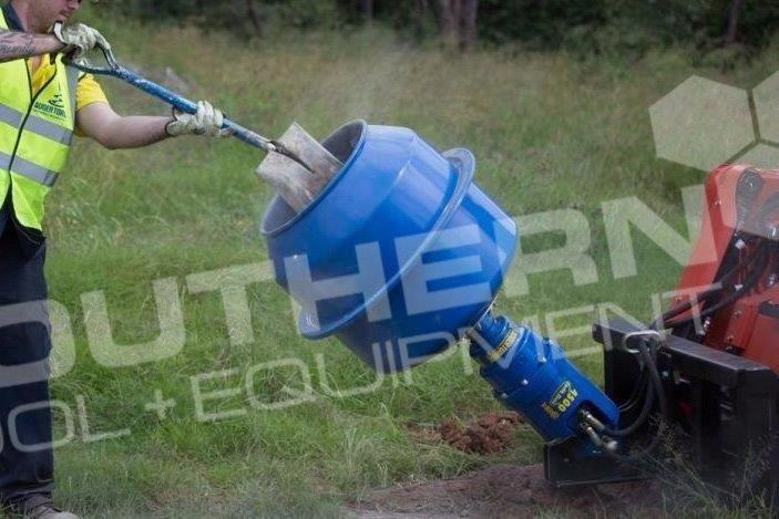 auger torque 180l cement mixer bowl 424569 007