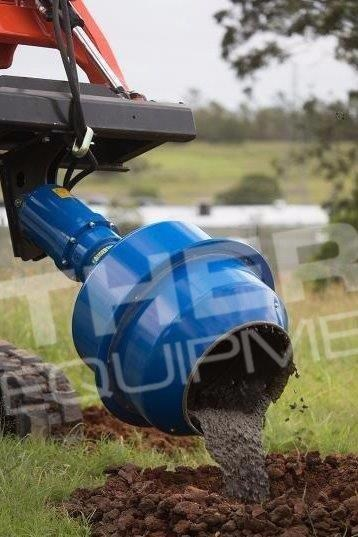 auger torque 180l cement mixer bowl 424569 009