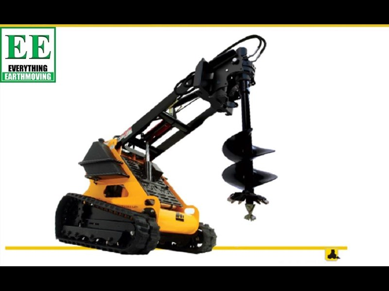 digga digga mini loader auger drive standard model 2 way (single swing) 385617 001