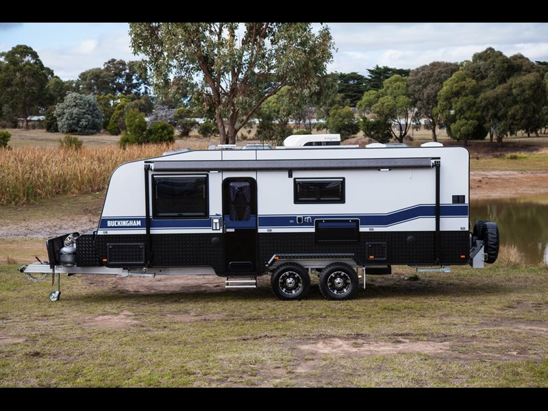 grand salute buckingham 22ft semi off road (family bunk caravan) 478087 013