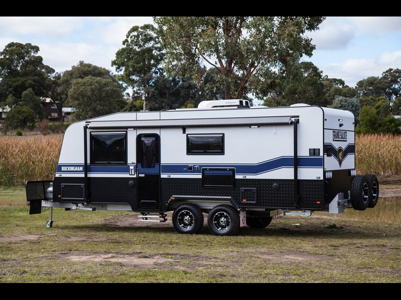 grand salute buckingham 22ft semi off road (family bunk caravan) 478087 015