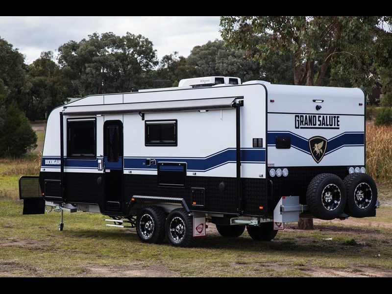 grand salute buckingham 22ft semi off road (family bunk caravan) 478087 017