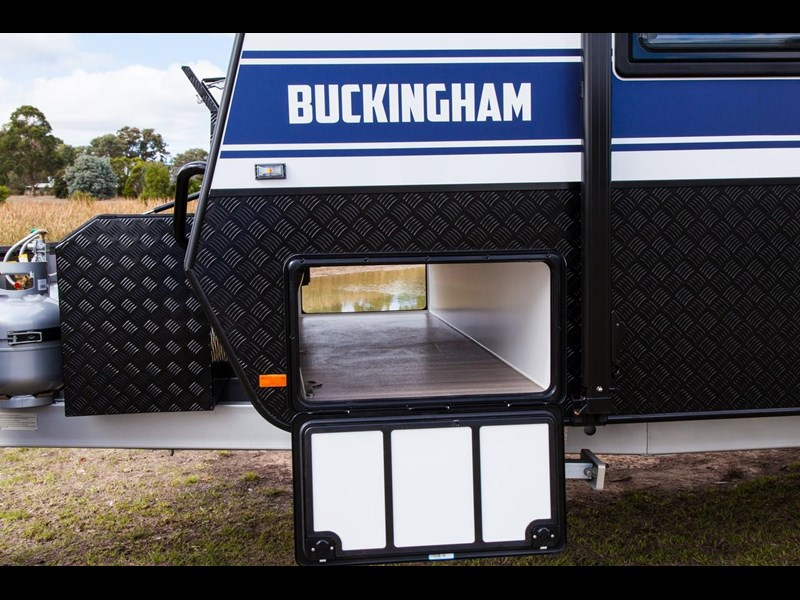grand salute buckingham 22ft semi off road (family bunk caravan) 478087 027