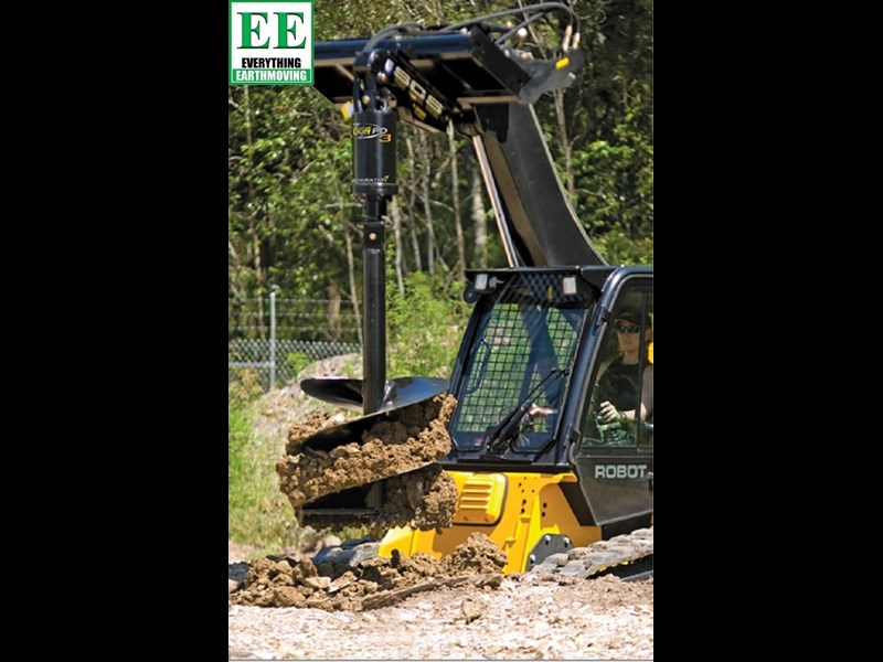 digga pd6hf backhoe high flow auger drive 385496 007